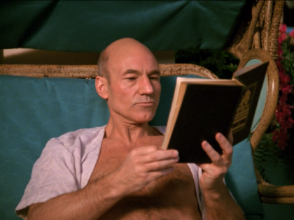 Patrick-Stewart-as-Captain-Jean-Luc-Picard-on-Risa-Captains-Holiday-Star-Trek-The-Next-Generation